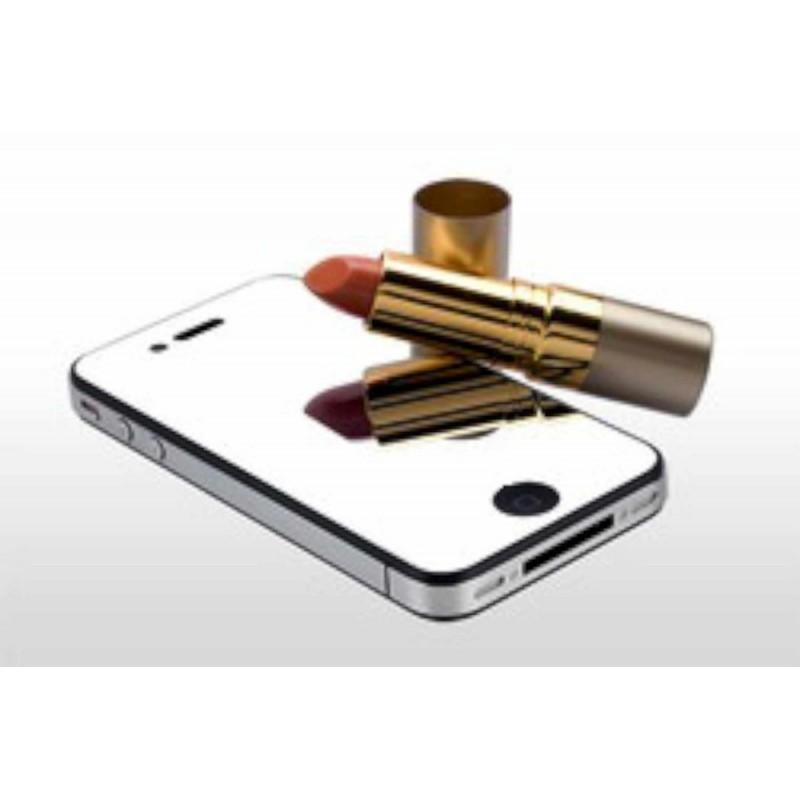 Displayschutzfolie iPhone 4(S) Spiegel (Vorderseite)