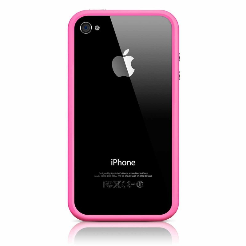 iPhone 4(S) Bumper rosa