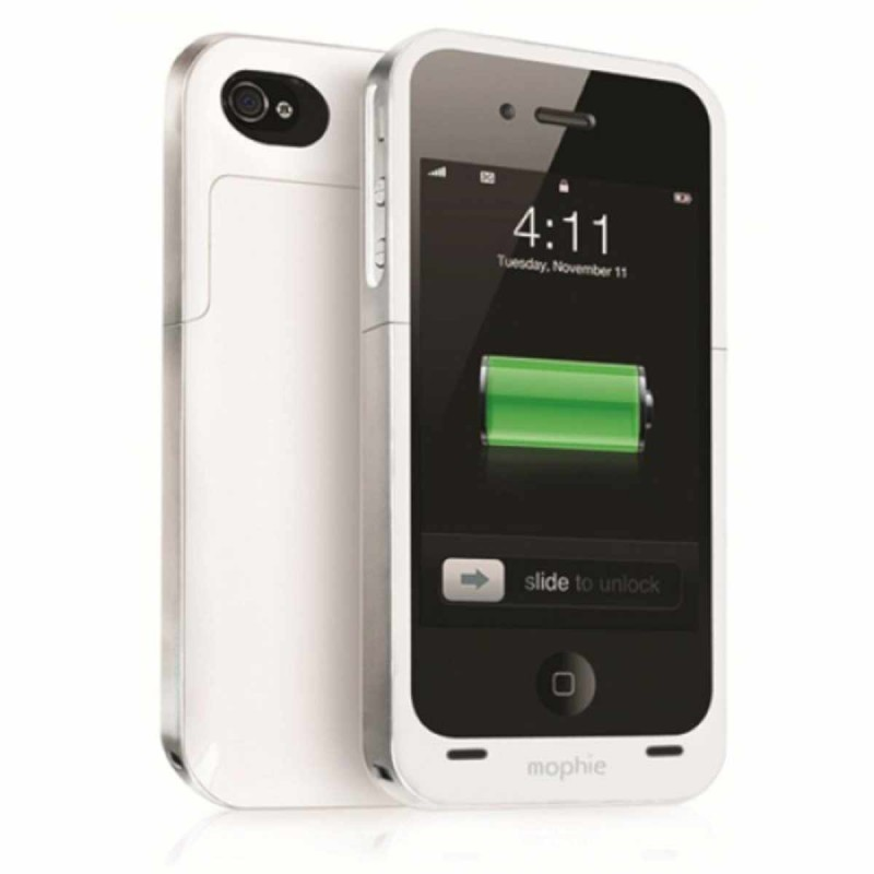 Mophie Juice Pack Air iPhone 4(S) weiß