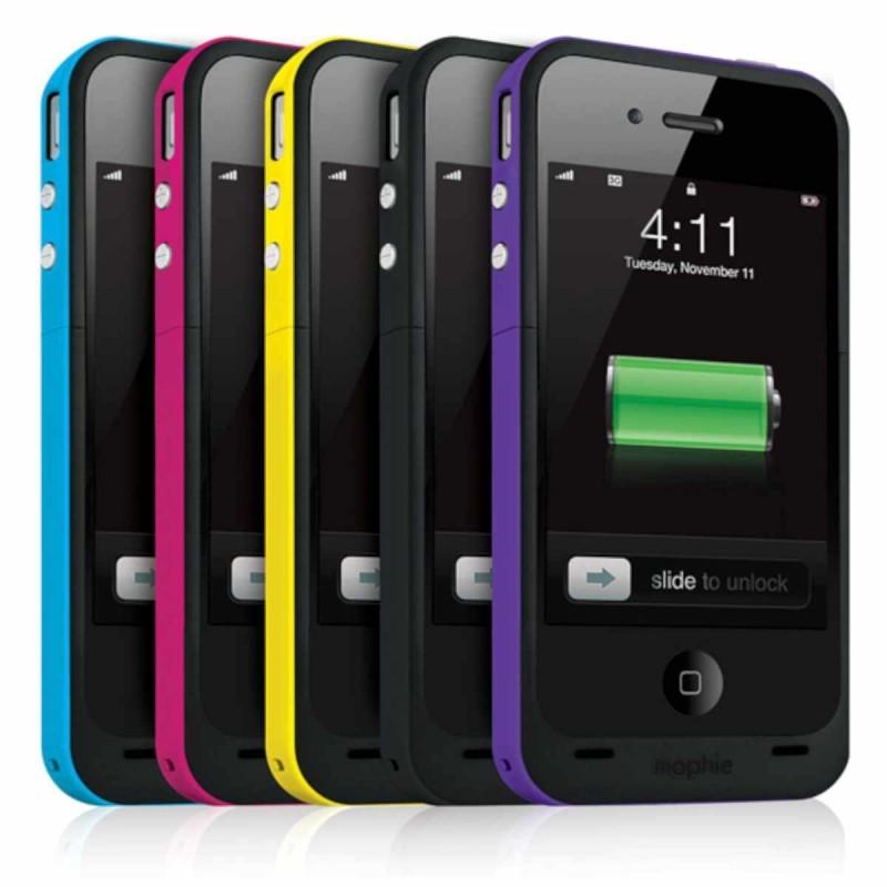 Mophie Juice Pack Plus iPhone 4(S) schwarz