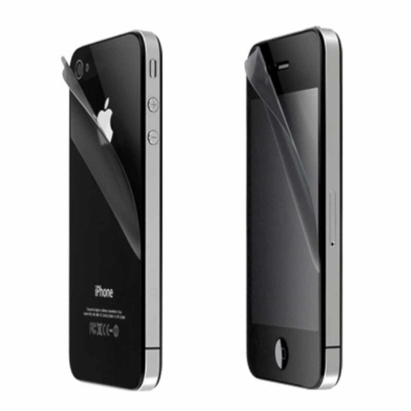 Schutzfolie iPhone 4(S) antireflektierend (Vorder- und Rückseite)