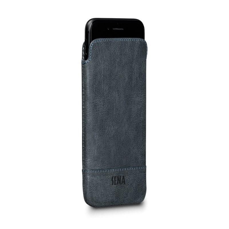 Sena UltraSlim Heritage Hülle Denim iPhone 6 / 6S / 7 / 8 blau