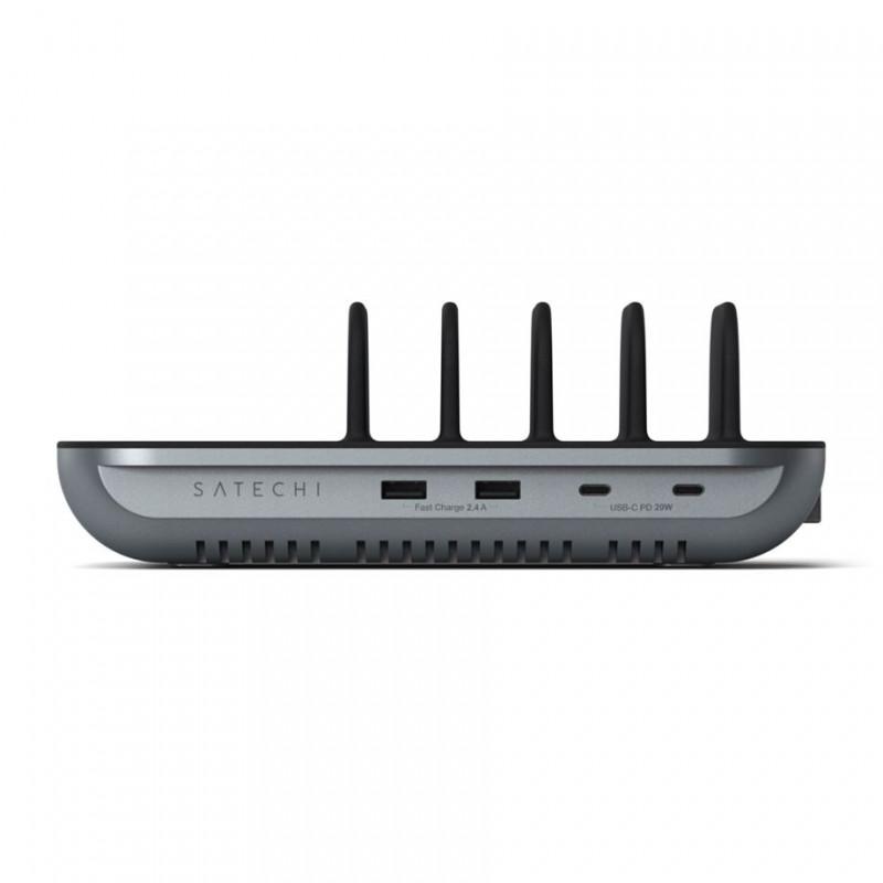 Satechi Multi-Device Ladestation+Wireless Lade Dock 5