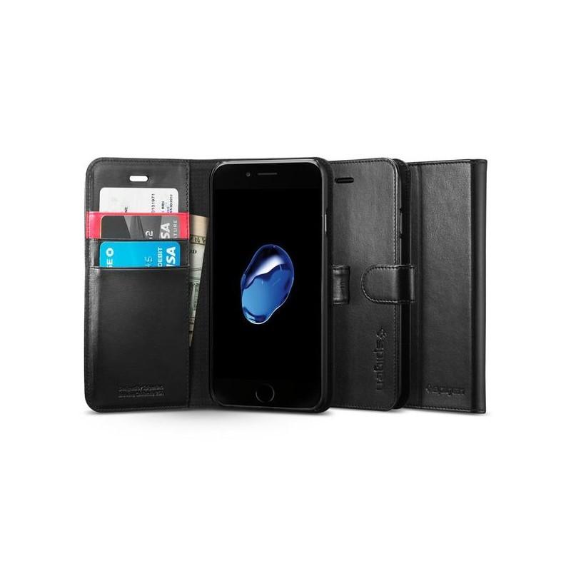 Spigen Wallet S iPhone 7 schwarz