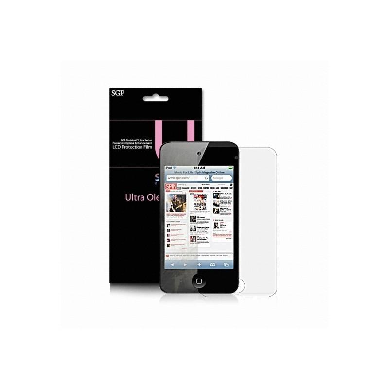 Spigen Steinheil Ultra Oleophobic iPod Touch 4G Screen Protector