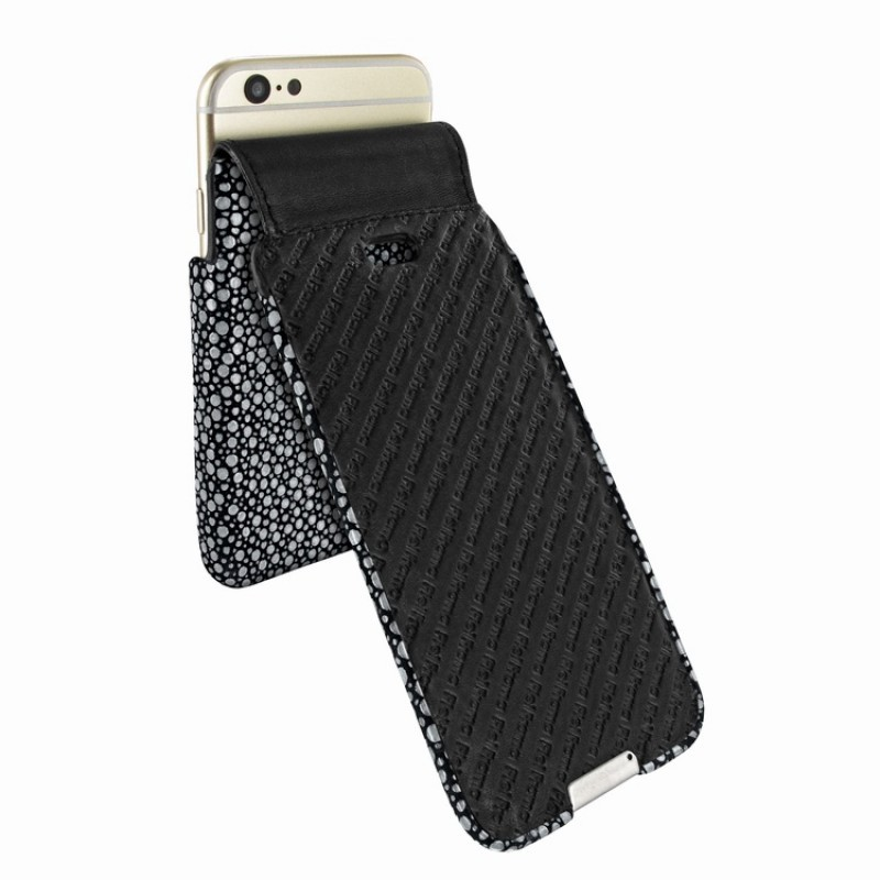 Piel Frama iMagnum iPhone 6 Plus / 6S Plus Stingray schwarz