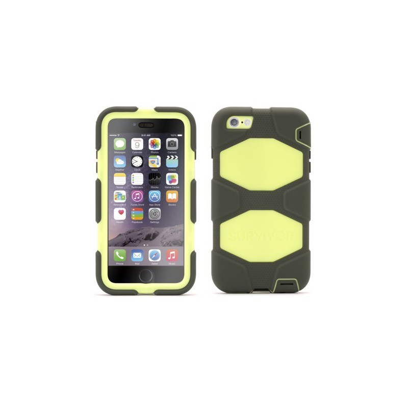 Griffin Survivor Hardcase iPhone 6(S) Plus grün