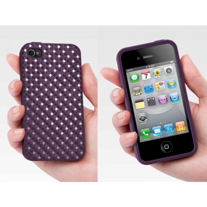 SwitchEasy Hard Case Glitz iPhone 4(S) purpur