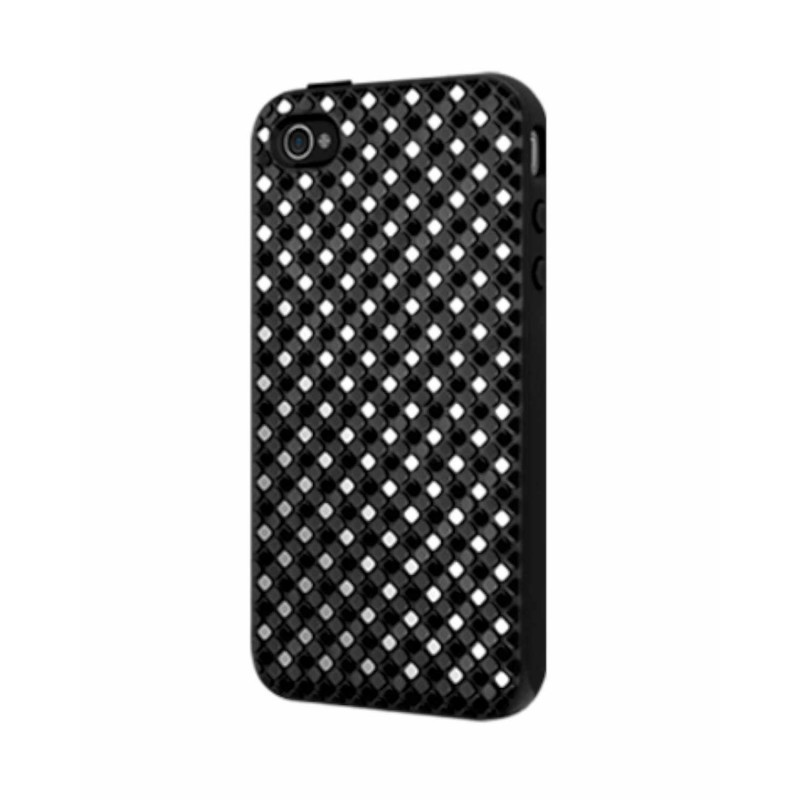 SwitchEasy Hard Case Glitz iPhone 4(S) schwarz