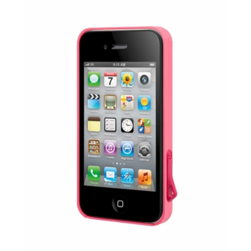SwitchEasy Hard Case Lanyard iPhone 4(S) rosa