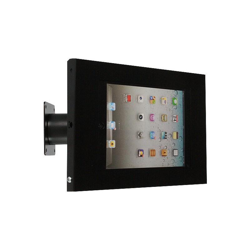 Wandhalterung/Tischständer Securo iPad und Galaxy Tab schwarz