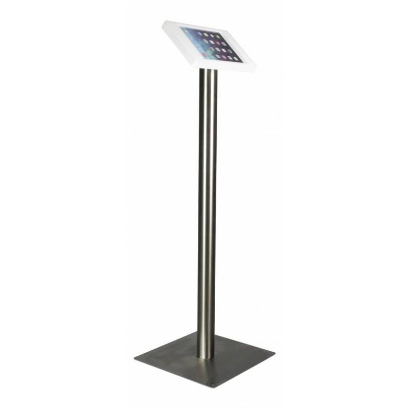 Tablet Bodenständer Fino iPad 9.7 inch Weiß / Edelstahl