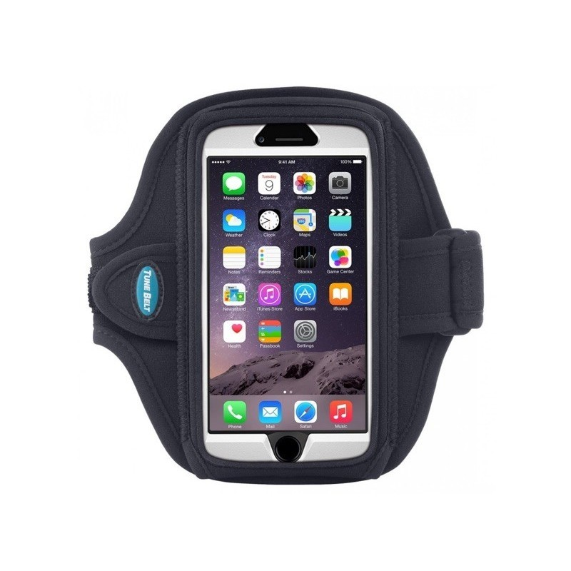 Tune Belt Sportarmband AB86 iPhone 6(S)/7 Schwarz