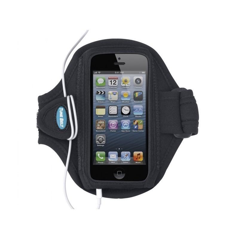 Tune Belt Sportarmband AB87 iPhone 5(S)/5C/SE Schwarz