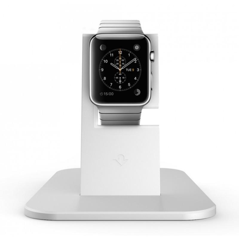 Twelve South HiRise Apple Watch silber