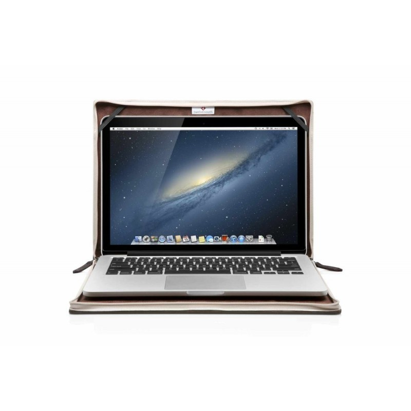 "Twelve South BookBook MacBook Pro 13,3"" braun/rot"
