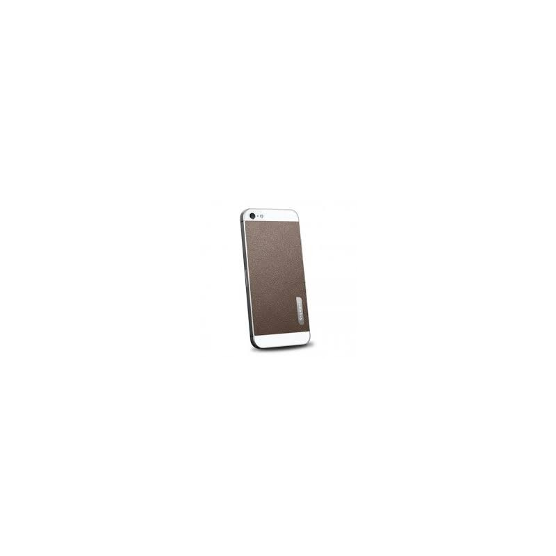 Spigen Skin Guard Leather iPhone 5(S) braun
