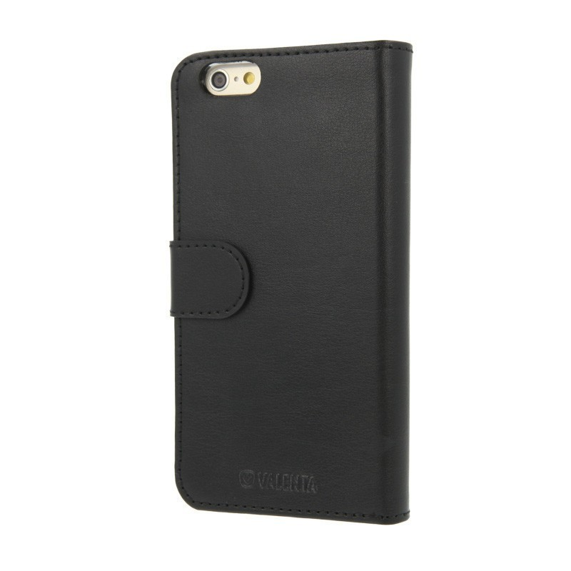 Valenta Booklet Wallet Case Classic iPhone 6(S) schwarz