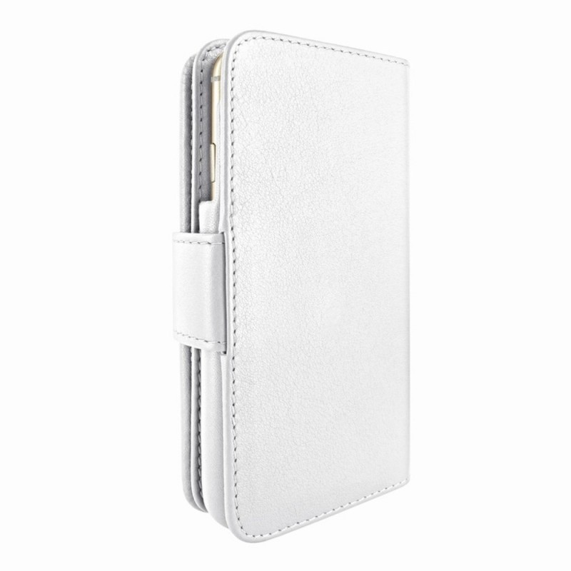 Piel Frama Wallet iPhone 6(S) Plus weiß