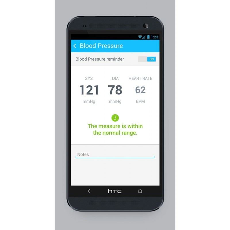 Nokia Kabelloses Blutdruckmessgerät