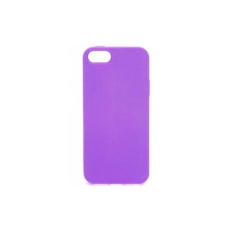 Soft Grip Case iPhone 5 / 5S TPU Hülle Lila
