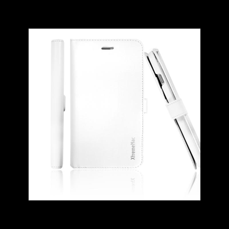 XtremeMac X-Wallet Leder Case iPhone 6(S) weiß