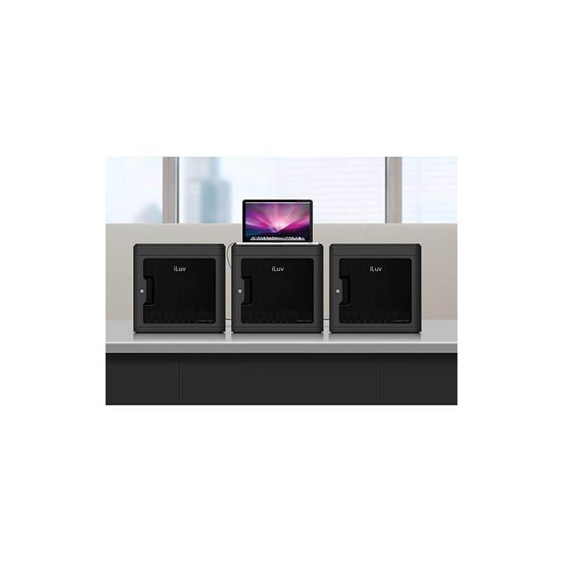 iLuv MultiCharger-X 10 Anschlüsse USB Ladestation schwarz
