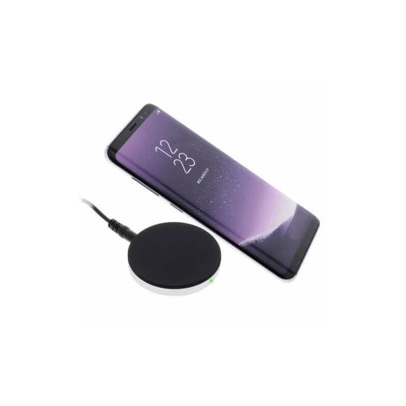 ZENS Single Wireless Charger Schwarz
