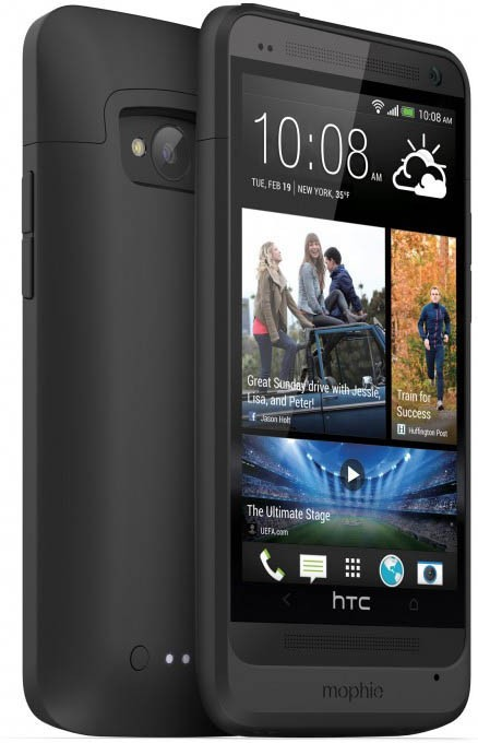 Mophie juice pack HTC One schwarz