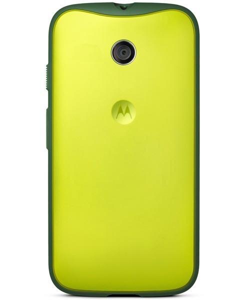 Motorola Grip Shell für Motorola Moto E gelb