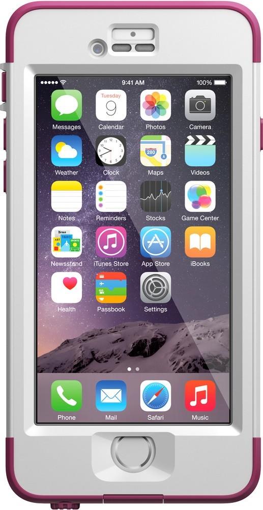 LifeProof nüüd iPhone 6 wieß/pink