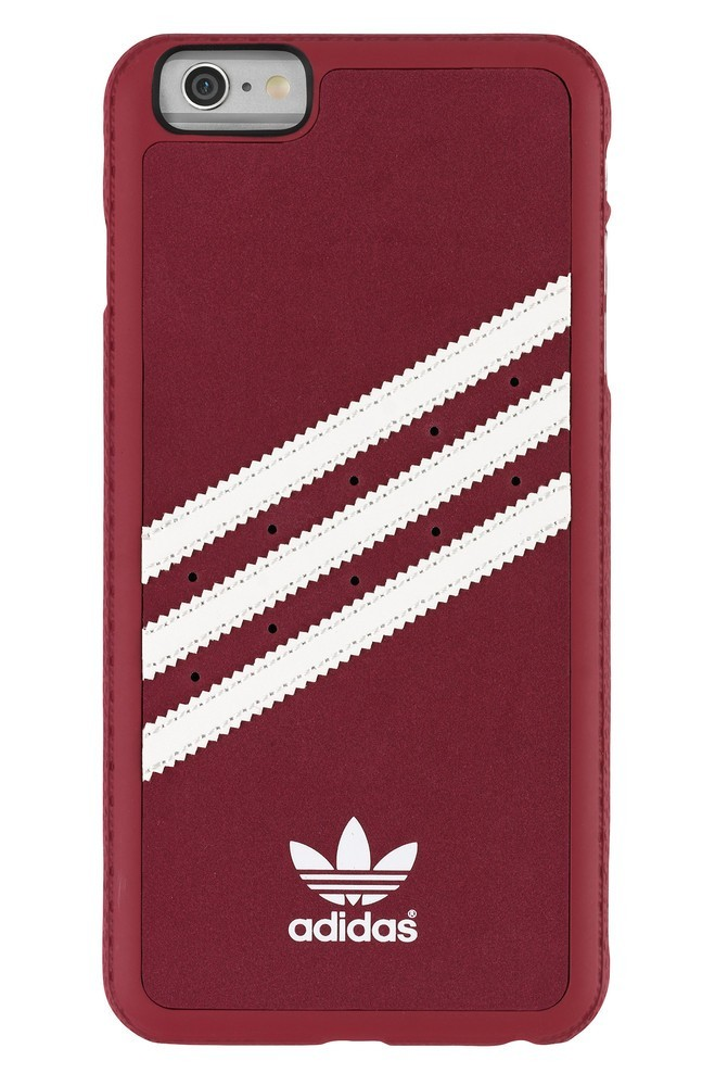 Adidas Vintage Moulded Case iPhone 6 Plus / 6S Plus Rot / Weiß