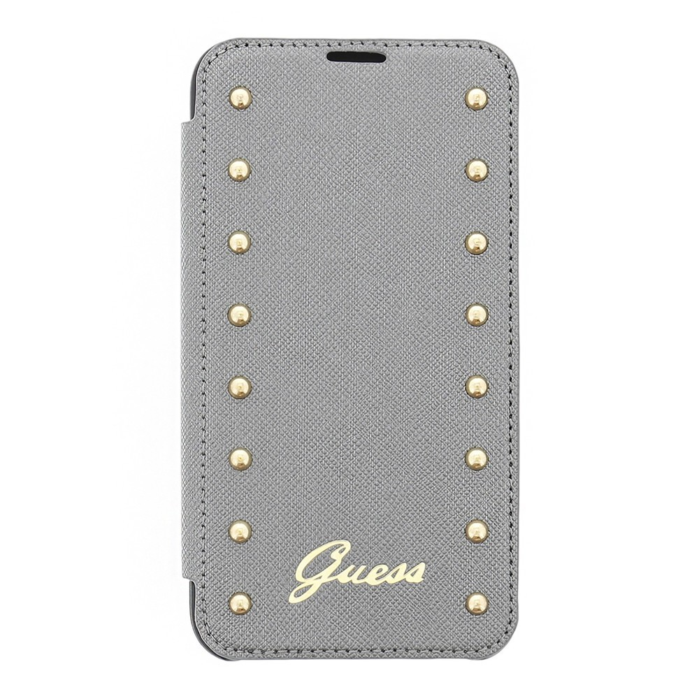 Guess Studded Galaxy S5 Folio Case silber