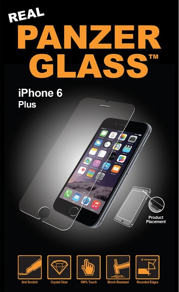 PanzerGlass iPhone 6(S) Plus glass screenprotector