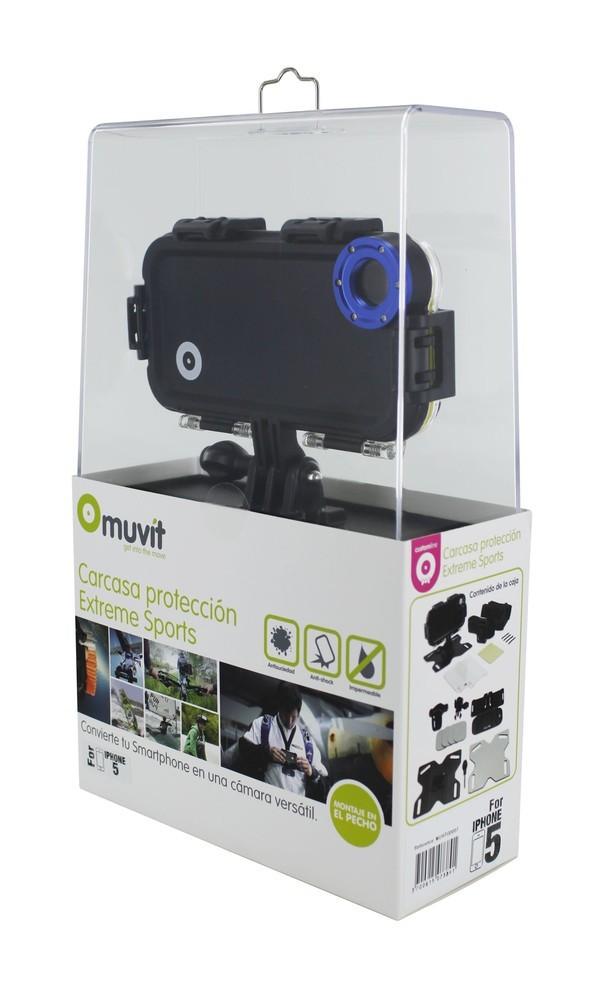 Muvit Outride iMountz Extremsport Ausrüstung iPhone 5(S)