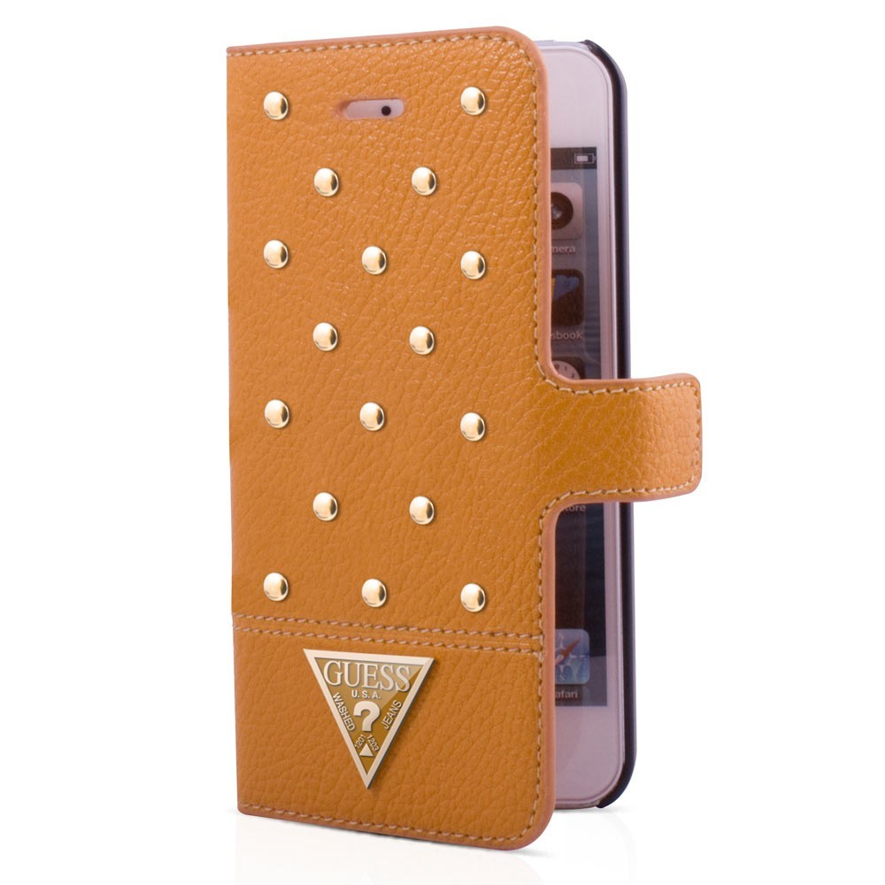 Tessi Galaxy S5 Folio Case Cognac