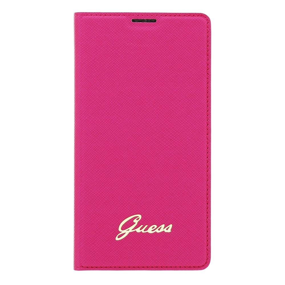 Guess Tori Galaxy S5 S-View Case Pink