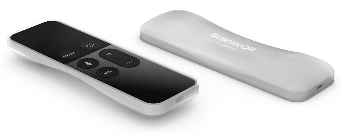Griffin Survivor Play Siri Remote transparent