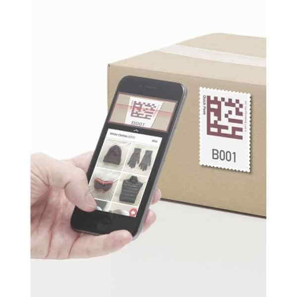 Bluelounge Quick Peek Smart labels - 32 Aufkleber