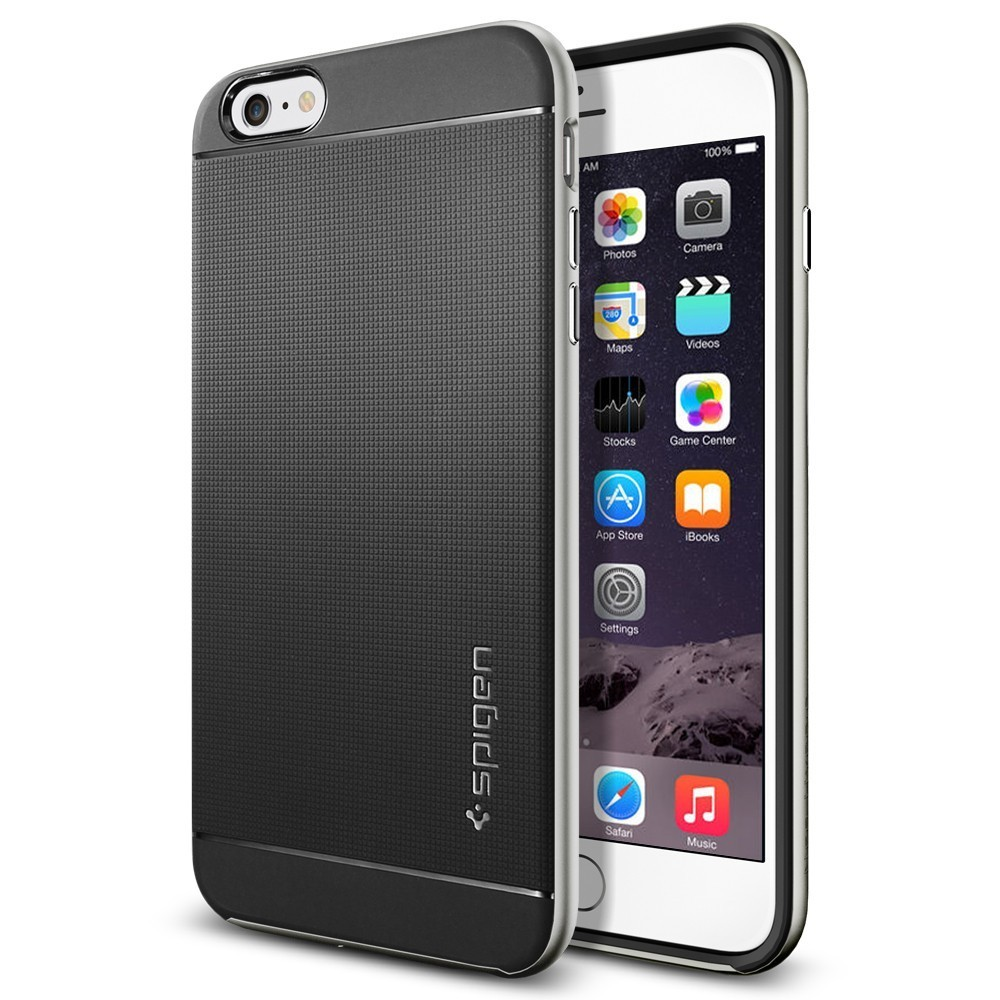Spigen Neo Hybrid iPhone 6(S) Plus Satin Silber
