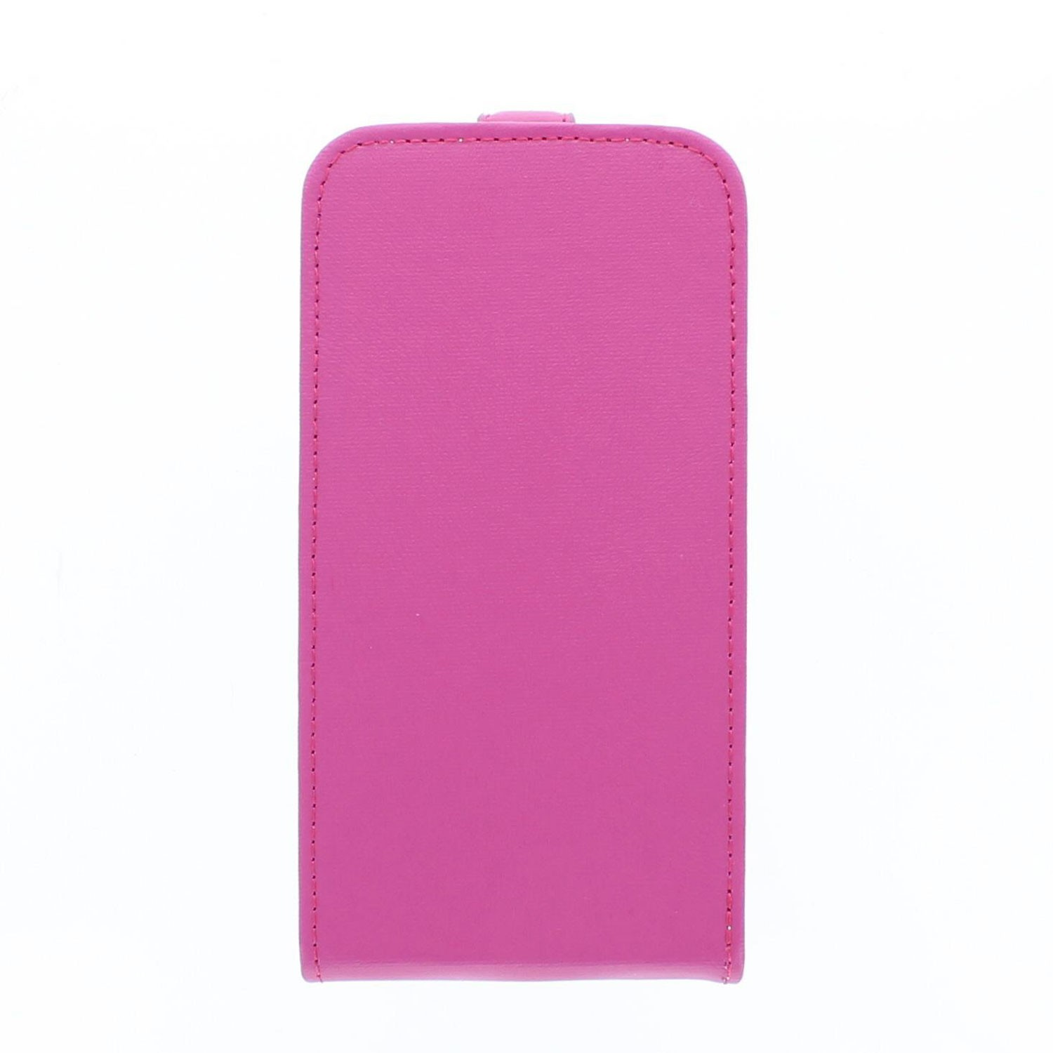 Eco Galaxy S5 Flip Case Fuchsia