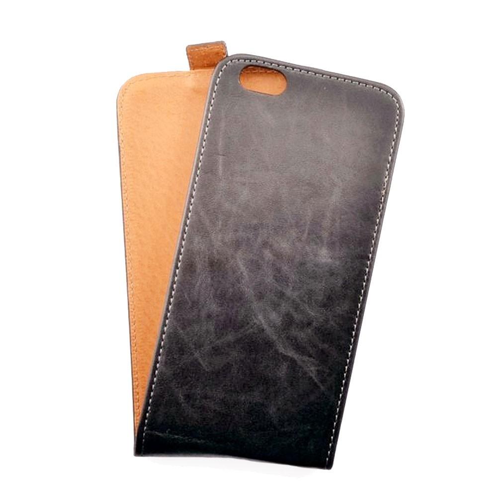 Toscana iPhone 6 Plus / 6S Plus Flip Case Brown