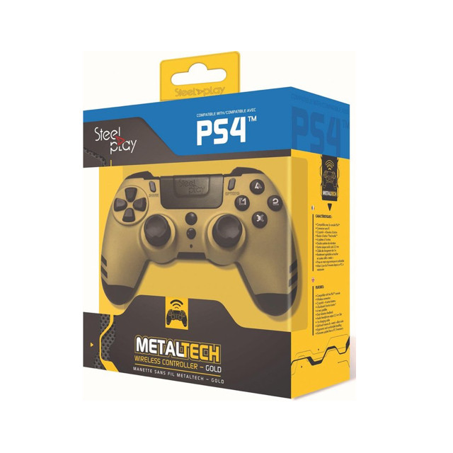Steelplay MetalTech Wireless Controller Gold
