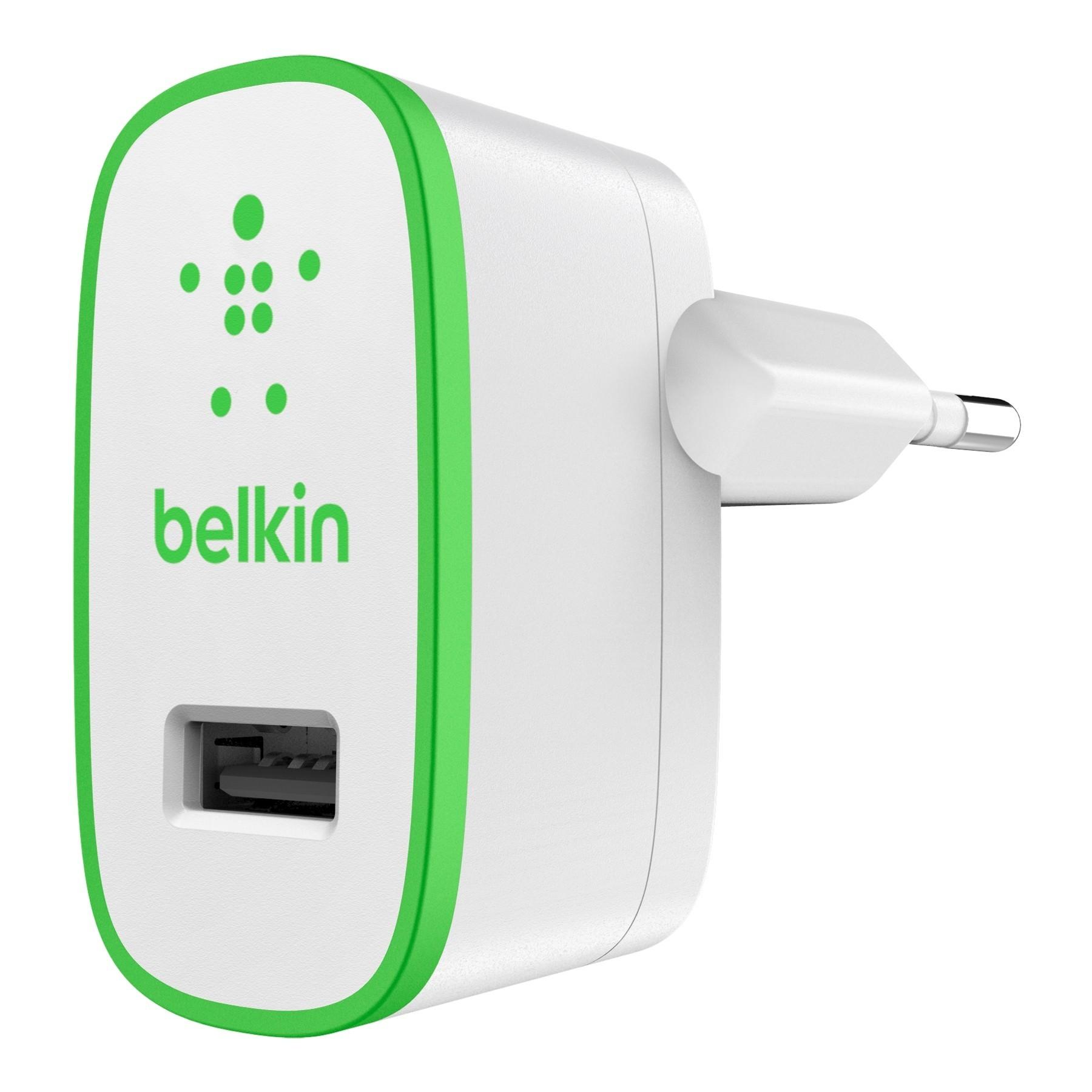 Belkin Wall Charger 2.1A Grün