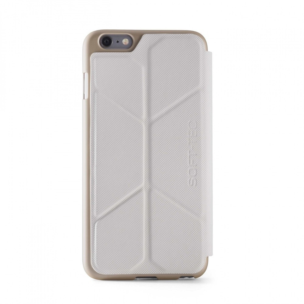 Element Case Soft-Tec Wallet iPhone 6(S) Plus weiß