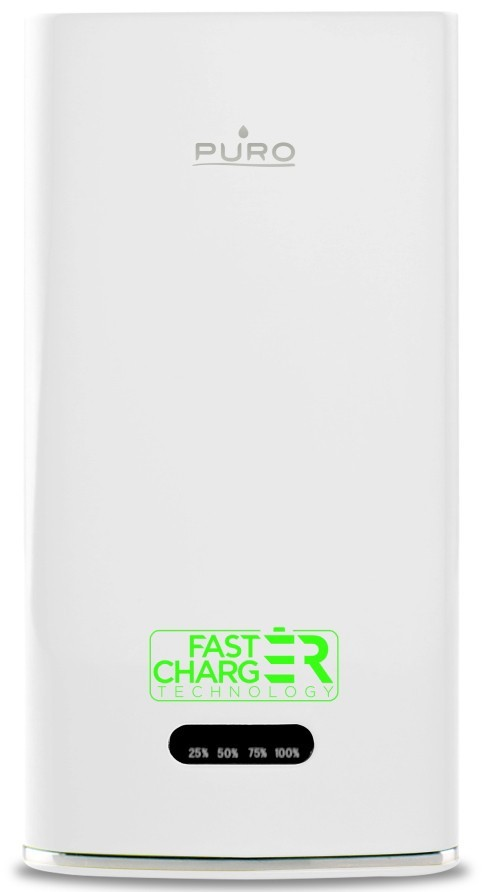 Puro Powerbank Fast Charger 6000 mAh 2.1A White
