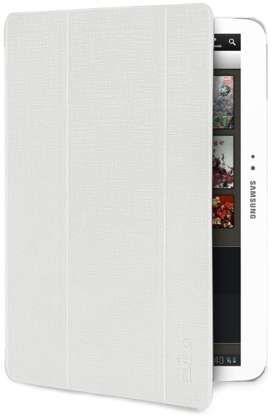 Puro Slim Case Ice Galaxy Tab 3 10.1 Pearl White