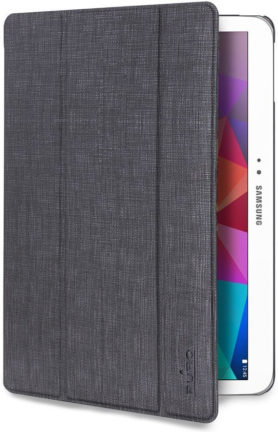 Puro Slim Case Ice Galaxy Tab 4 10.1 Pearl Grey