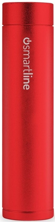 Puro Smartline Powerbank Cilindric 2200 mAh 1A Red