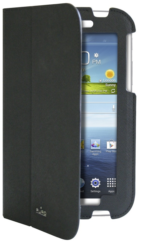 Puro Ultra Slim Cover Folio Galaxy Tab 3 7.0 schwarz
